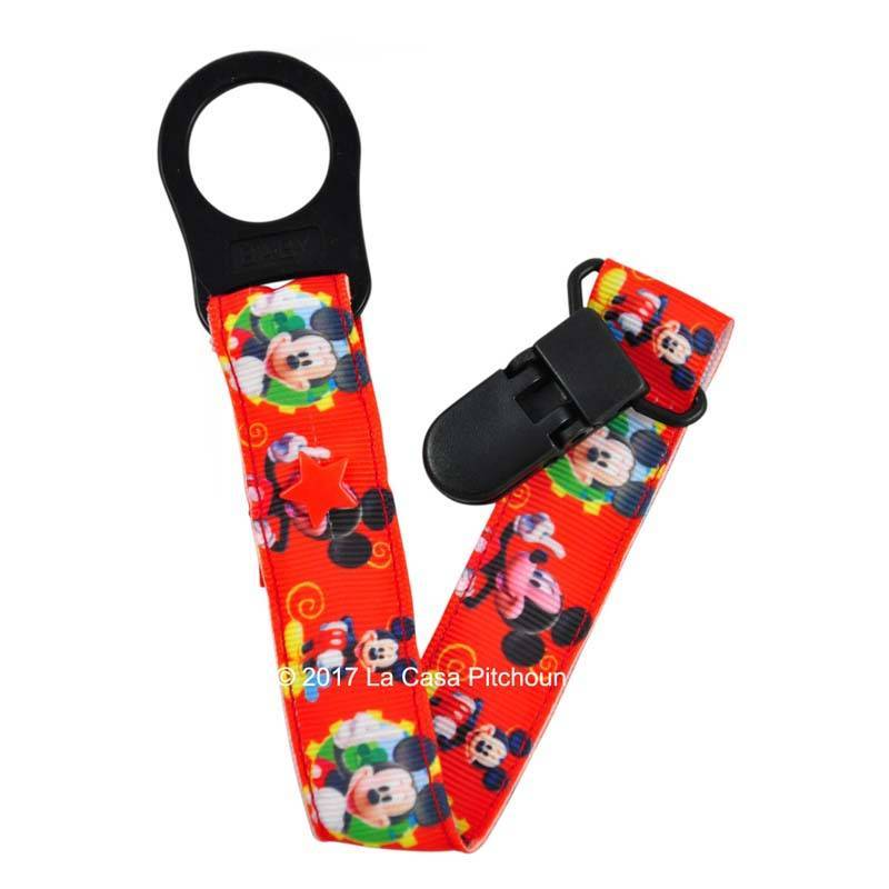 Attache tétine Mickey